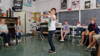 Mitch Dancing